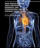 What Should We Know About Prevented, Diagnostic, and Interventional Therapy in Coronary Artery Disease Edited by Branislav G. Baskot