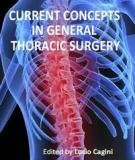 Current Concepts in General Thoracic Surgery  Edited by Lucio Cagini