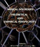 Mental Disorders - Theoretical and Empirical Perspectives  Edited by Robert Woolfolk and Lesley Allen
