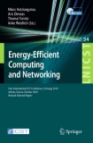 Energy-Efficient Computing and Networking