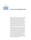 Plant physiology - Chapter  19  Auxin: The Growth Hormone