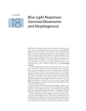 Plant physiology - Chapter  18  Blue-Light Responses: Stomatal Movements and Morphogenesis
