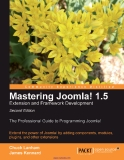 Mastering Joomla! 1.5 Extension and Framework Development