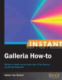 Instant Galleria How-to Recipes to make you an expert user of the Galleria JavaScript framework