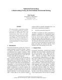 """Báo cáo khoa học: """"Optimistic Backtracking A Backtracking Overlay for Deterministic Incremental Parsing"""""""