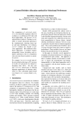 """Báo cáo khoa học: """"A Latent Dirichlet Allocation method for Selectional Preferences"""""""