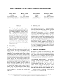 """Báo cáo khoa học: """"French TimeBank: An ISO-TimeML Annotated Reference Corpus"""