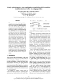 """Báo cáo khoa học: """"Jointly optimizing a two-step conditional random field model for machine transliteration and its fast decoding algorithm"""""""