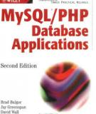 MySQL® /PHP Database Applications, Second Edition