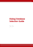 Dialog® Database Selection Guide