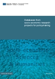 Databases from   socio-economic research  projects for policymaking
