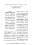 """Báo cáo khoa học: """"Semi-Supervised Cause Identification from Aviation Safety Reports"""""""