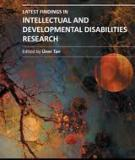 Latest Findings in Intellectual and Developmental Disabilities Research Edited by Üner Tan