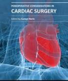 Perioperative Considerations in Cardiac Surgery Edited by Cuneyt Narin