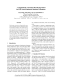 """Báo cáo khoa học: """"A Linguistically Annotated Reordering Model for BTG-based Statistical Machine Translation"""""""