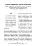 """Báo cáo khoa học: """"Task-oriented Evaluation of Syntactic Parsers and Their Representations"""""""
