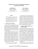 """Báo cáo khoa học: """"Semantic Types of Some Generic Relation Arguments: Detection and Evaluation"""""""