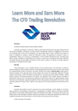 Learn more and earn more the CFD trading revolution