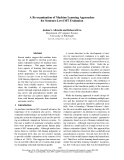 """Báo cáo khoa học: """"A Re-examination of Machine Learning Approaches for Sentence-Level MT Evaluation"""""""