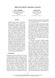 """Báo cáo khoa học: """"Mildly Non-Projective Dependency Structures"""""""