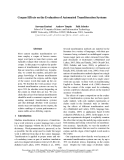 """Báo cáo khoa học: """"Corpus Effects on the Evaluation of Automated Transliteration Systems"""""""