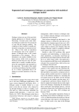 """Báo cáo khoa học: """"Segmented and unsegmented dialogue-act annotation with statistical dialogue models∗"""""""