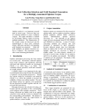 """Báo cáo khoa học: """"Test Collection Selection and Gold Standard Generation for a Multiply-Annotated Opinion Corpus"""""""