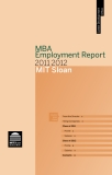 MBA Employment Report 2011-2012  MIT Sloan