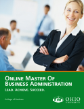 ONLINE MASTER OF  BUSINESS ADMINISTRATION
