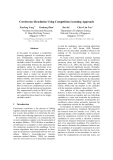"""Báo cáo khoa học: """"Coreference Resolution Using Competition Learning Approach"""""""