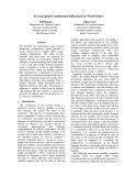 """Báo cáo khoa học: """"Is Conceptual Combination Influenced by Word Order?"""""""