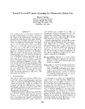 """Báo cáo khoa học: """"Toward General-Purpose Learning for Information Extraction"""""""