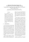 """Báo cáo khoa học: """"Diagnostic Processing of Japanese for Computer-Assisted Second Language Learning"""""""