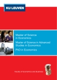 Master of Science  in Economics: Master of Science in Advanced Studies in Economics