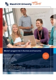 Master's programmes in Business and Economics