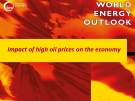 Impact of high oil prices on the economy