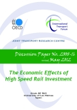 The Economic Effects of  High Speed Rail Investment