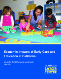 Economic Impacts of Early Care and Education in California