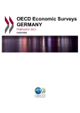 OECD Economic Surveys GERMANY