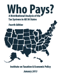 Who Pays? A Distributional Analysis of the  Tax Systems in All 50 States