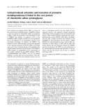 Báo cáo khoa học:  Calcium-induced activation and truncation of promatrix metalloproteinase-9 linked to the core protein of chondroitin sulfate proteoglycans