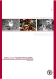 FAO ANIMAL PRODUCTION AND HEALTH SMALL-SCALE POULTRY PRODUCTION