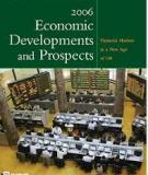 Economic Developments and Prospects 2006