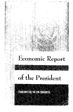 Economic Report or the President