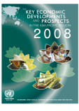 DEVELOPMENTS KEY ECONOMIC AND PROSPECTS IN THE ASIA-PACIFIC REGION 2008