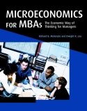 Sách Microeconomics for MBAs