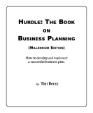 Book Hurdle the book on business planning