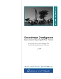 groundwater development basic concepts for expanding crs water programs