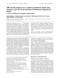 Báo cáo khoa học:  NMR and MS evidences for a random assembled O-specific chain structure in the LPS of the bacterium Xanthomonas campestris pv. Vitians A case of unsystematic biosynthetic polymerization