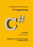 C Programming  #  Rob Miles Edition 2.1 January 2011